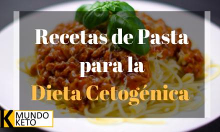 Recetas de pasta Keto para todos tus antojos de carbohidratos