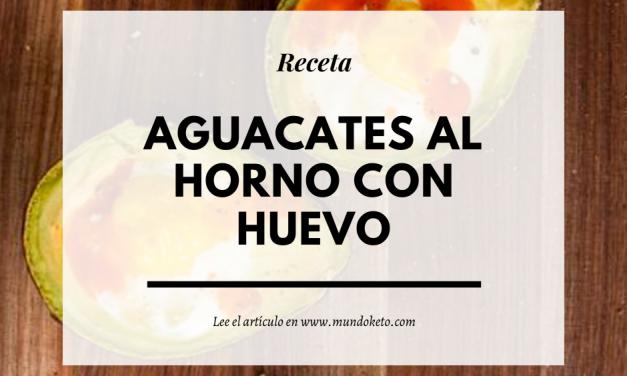 AGUACATES AL HORNO CON HUEVO